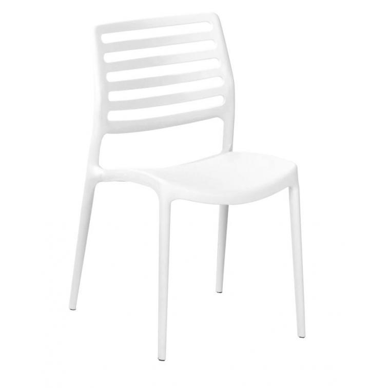 Silla Willy color blanco